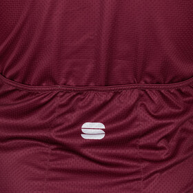 Sportful Wire Jersey Heren, red wine red rumba gold